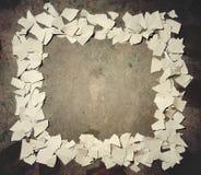 Trame de papier déchirée Photographie stock libre de droits