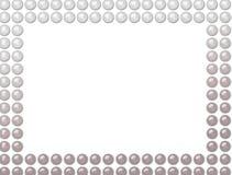 Trame de perles illustration stock