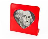 Trame de photo avec la verticale de George Washington Photo libre de droits