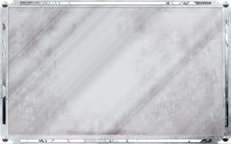 Trame de photo de cru avec les configurations chiques Image stock