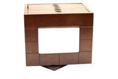 Trame de photo et caisse en bois de photo Image libre de droits