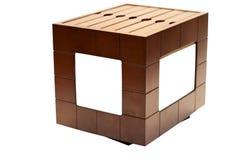 Trame de photo et caisse en bois de photo Photos libres de droits