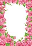 Trame de roses illustration de vecteur