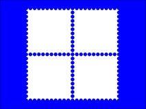 trame de timbre-poste 4 Photographie stock