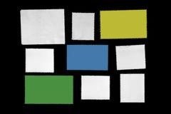 Trame de timbres-poste image libre de droits