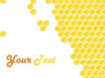 Trame de type de nid d'abeilles Photo stock