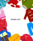 Trame de vêtements d'enfants Photographie stock libre de droits