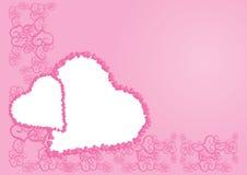 Trame de Valentine Photo libre de droits