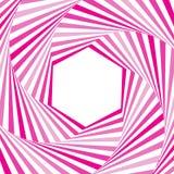 Trame de vecteur Illusion optique Art optique Designe géométrique Calibre, moquerie  Photo stock