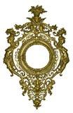 trame dorée Image stock