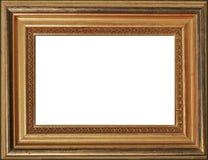 Trame dorée de photo Photographie stock libre de droits