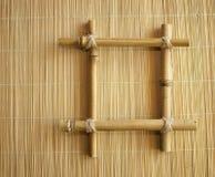 Trame en bambou photo libre de droits
