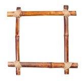 Trame en bambou Photographie stock
