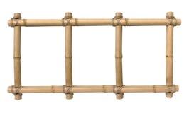 Trame en bambou de photo Image stock