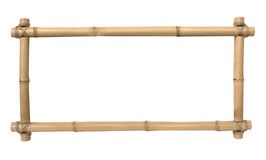 Trame en bambou de photo Photos libres de droits