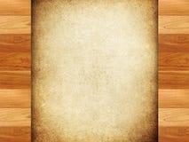 Trame en bois avec le fond de peinture Images stock