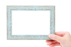 Trame en bois blanc Photographie stock libre de droits