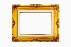 Trame en bois classique d'isolement sur le blanc Photo libre de droits