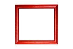 Trame en bois classique d'isolement sur le blanc Photographie stock libre de droits