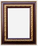 Trame en bois d'isolement sur le fond blanc Photos stock
