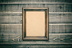 Trame en bois de cru Photos libres de droits