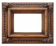 Trame en bois de photo Photographie stock libre de droits