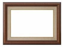 Trame en bois de photo Images libres de droits
