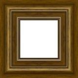 Trame en bois de photo image stock