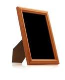 Trame en bois de photo Image libre de droits