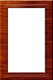 Trame en bois de verticale Photographie stock libre de droits