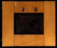 Trame en bois des bords larges Image libre de droits