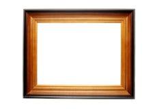 Trame en bois pour des peintures Photo stock