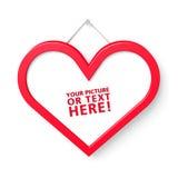 Trame en forme de coeur Image libre de droits