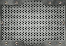 Trame en métal Photo libre de droits