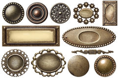 Trame en métal Photographie stock libre de droits