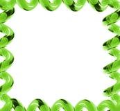 Trame en verre vert clair Images stock