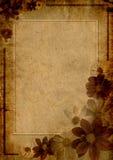 Trame fleurie pour la salutation Photo stock