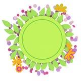 Trame florale Image libre de droits