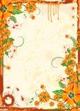 Trame florale abstraite Image libre de droits