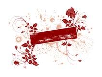 Trame florale abstraite illustration stock