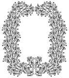 Trame florale décorative Image stock