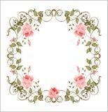 Trame florale de cru Photo stock