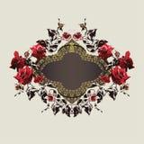 Trame florale de cru Photos stock