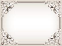 Trame florale de cru Photos libres de droits