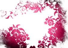 Trame florale de milieux de type Images stock