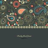 Trame florale de Paisley illustration libre de droits