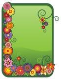 Trame florale de vecteur Illustration de Vecteur