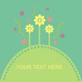 Trame florale mignonne Image stock