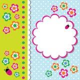 Trame florale mignonne illustration de vecteur