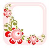 Trame florale rose Photo libre de droits